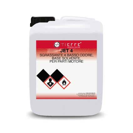 JET 4 Low-odour degreasing solvent-detergent