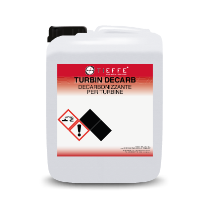 TURBIN DECARB Caustic descaling detergent for turbines