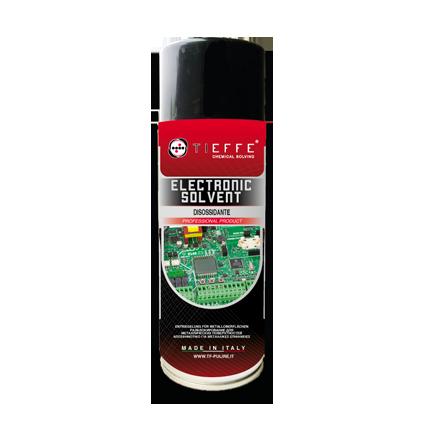 ELECTRONIC SOLVENT Solvente spray a rapida evaporazione per apparecchiature elettroniche
