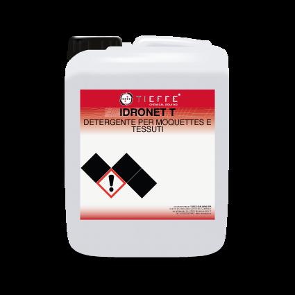 IDRONET T Detergente industriale a bassa schiuma per interni auto