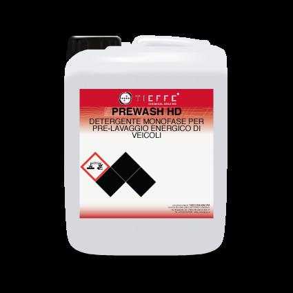 PREWASH HD Detergente energico schiumogeno per prelavaggio carrozzerie