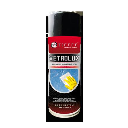VETROLUX Spray per la pulizia di vetri, cristalli, specchi e superfici lucide e trasparenti