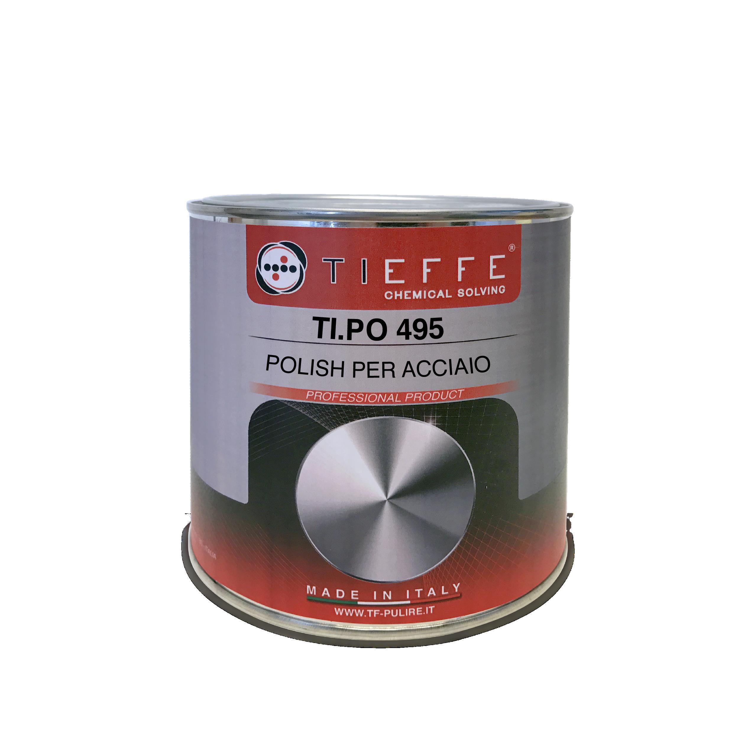 TI.PO 495 Polish bianco per superfici metalliche verniciate e non