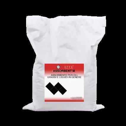ASSORBENT M Absorbent in medium-size granular powder form for oils