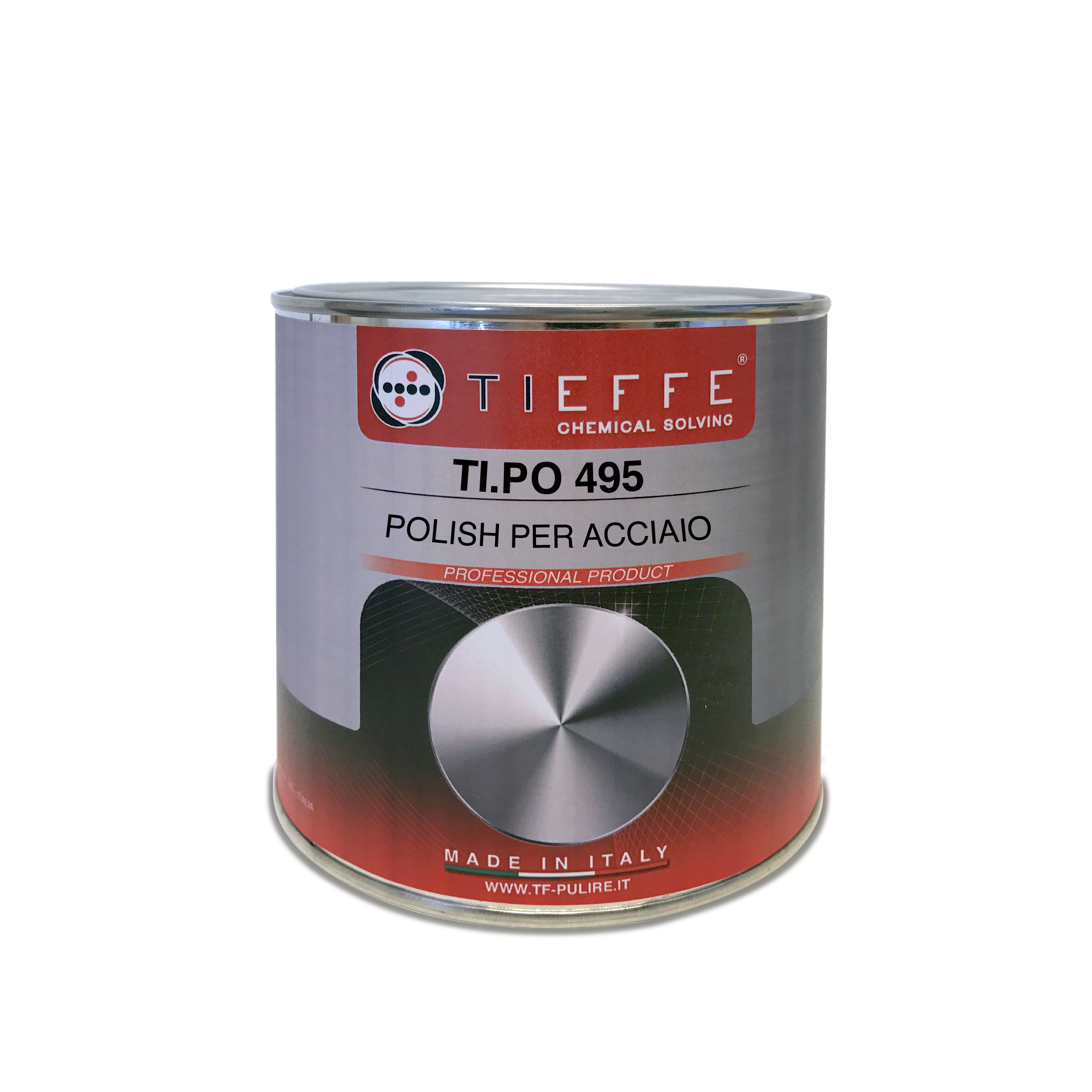 TI.PO 495 White polish for painted and unpainted metal surfaces